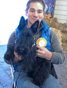 Kingsdale Scottish Terrier wins Novice Barn Hunt Title in New Jersey