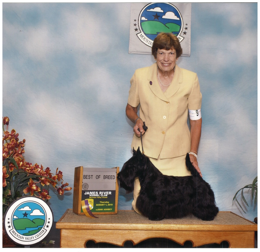 GCH CH Destiny's Code of Honor, a Scottish Terrier