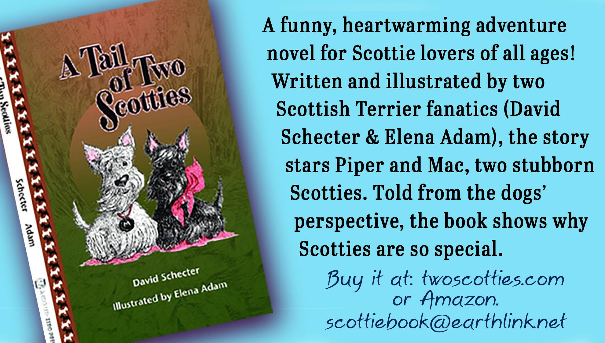 Two Scotties - An Adventure Book